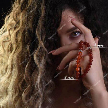 akik doğal taş kadın bileklik