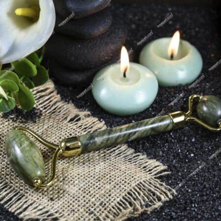 jade roller orjinal yeşim taşı masaj aleti