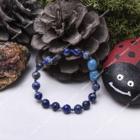lapis lazuli doğal taş çocuk bileklik