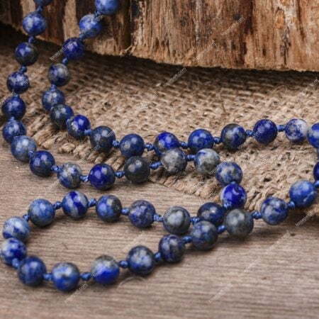 lapis lazuli doğal taş çocuk kolye
