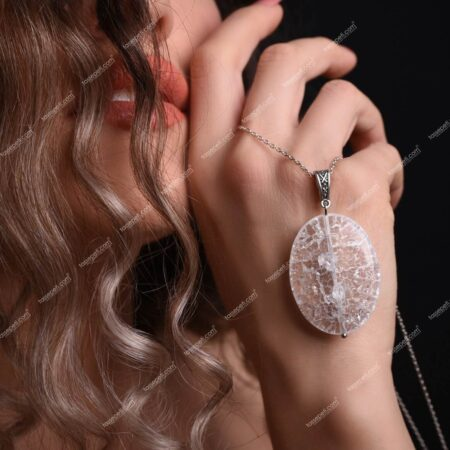 necef doğal taş kadın kolye ucu